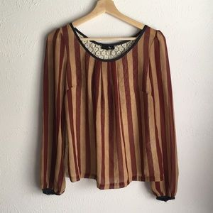 RYU ANTHROPOLOGIE CIRCUS STYLED FESTIVAL BLOUSE S